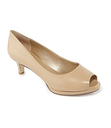 Alex Marie Leyla Peep-Toe Pumps