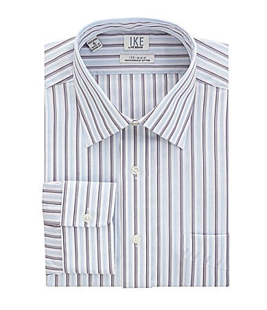 Ike Behar Striped Dress Shirt