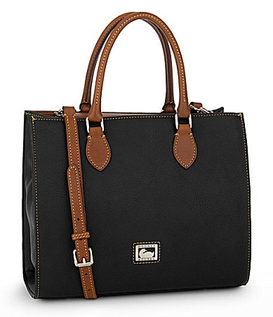 Dooney & Bourke Dillen Leather Janine Satchel