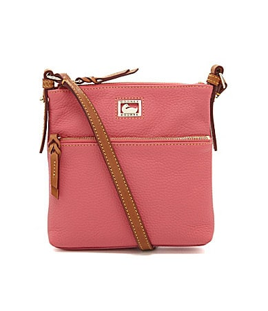 Dooney & Bourke Dillen Leather Letter Carrier Cross-Body Bag