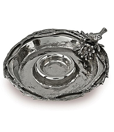 Star Home Designs Birds & Branches Chip & Dip Server