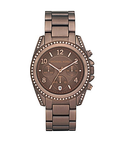 Michael Kors Blair Espresso Chronograph Watch