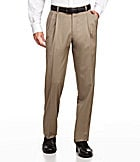 Hart Schaffner Marx Tailored Pleated Dress Pants
