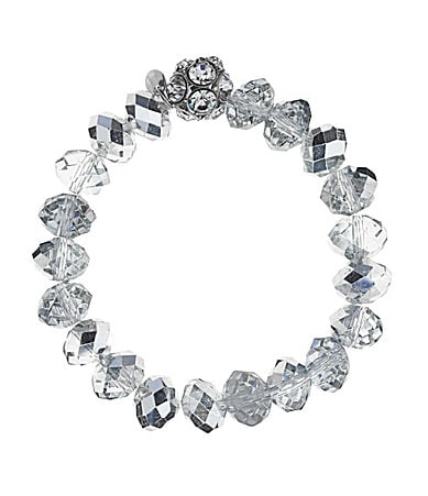 Cezanne Beaded Fireball Stretch Bracelet