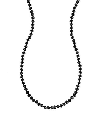 Dillard�s Tailored Long Beaded Wrap Necklace