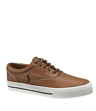 Polo Ralph Lauren Vaughn Leather Casual Sneakers
