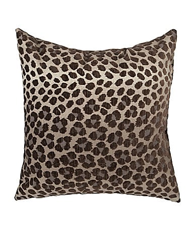 Newport Panther Linen Decorative Pillow