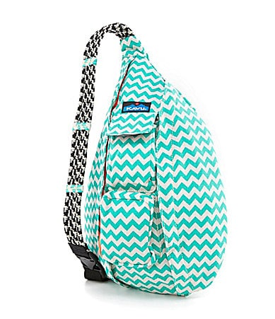 Kavu Diaper Bag Kavu Rope Bag Blue Blot One Size