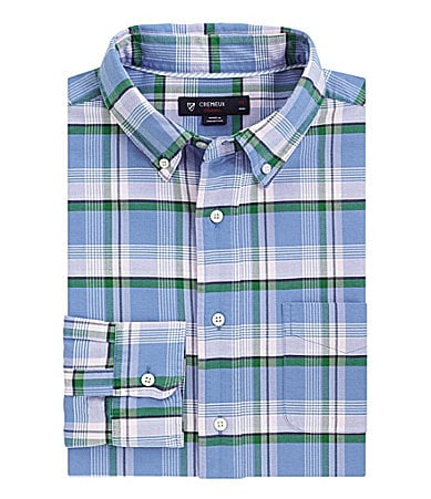 Cremieux Plaid Oxford Sportshirt