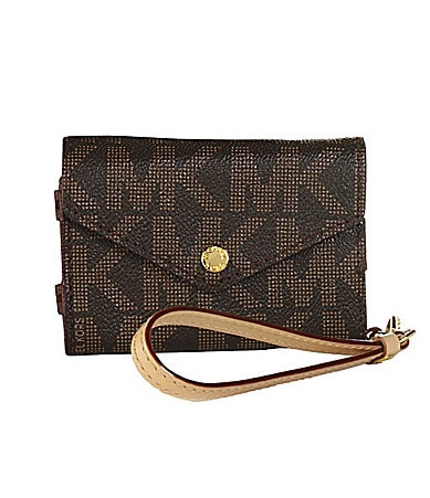 Michael Kors MK Logo iPhone Wristlet