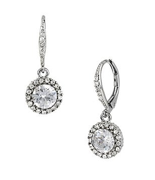Betsey Johnson Iconic Pavé Crystal Drop Earrings