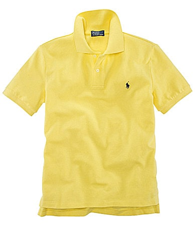Ralph Lauren Childrenswear 8-20 Mesh Polo Shirt