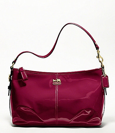 COACH MADISON PATENT DEMI