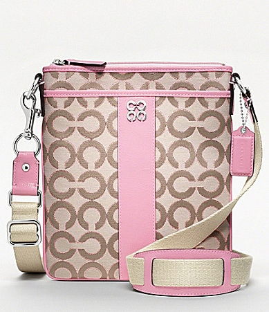 COACH JULIA OP ART SWINGPACK