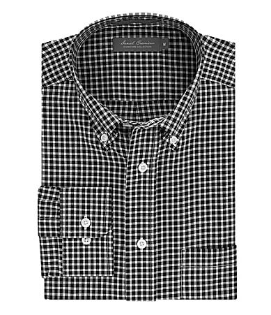 Daniel Cremieux Signature Cotton-Bemberg Blend Windowpane Sportshirt