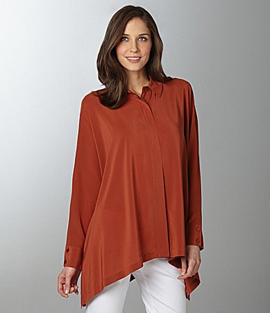 Eileen Fisher Boxy Long Shirt
