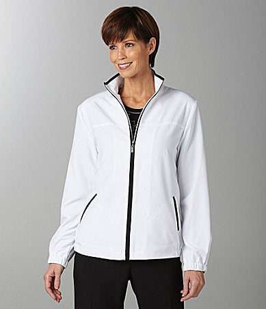 Allison Daley Zip-Front Jacket