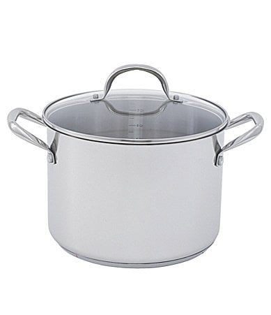Wolfgang Puck Stainless Steel 10-Quart Stock Pot with Lid