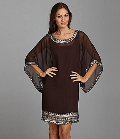 Jkara Woman Beaded Dress