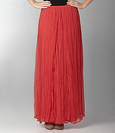 Willow & Clay Pleat Maxi Skirt