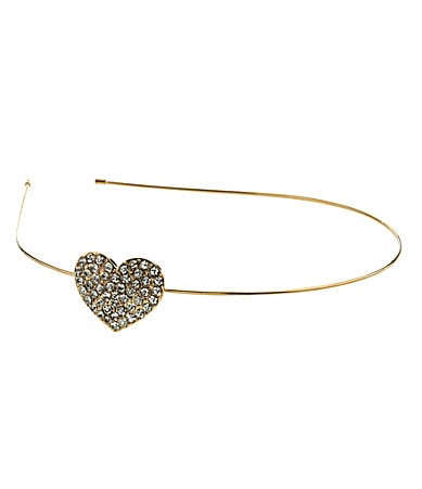 Anna & Ava Mini Bling Heart Headband