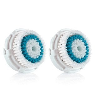Clarisonic Twin Pack Blue Head Deep Pore Cleansing Brush Head