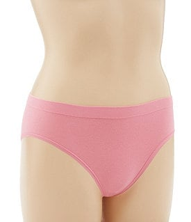 Modern Movement Cotton Seamless Hi-Cut Brief Image