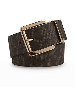 Michael Kors Reversible MK Logo Belt