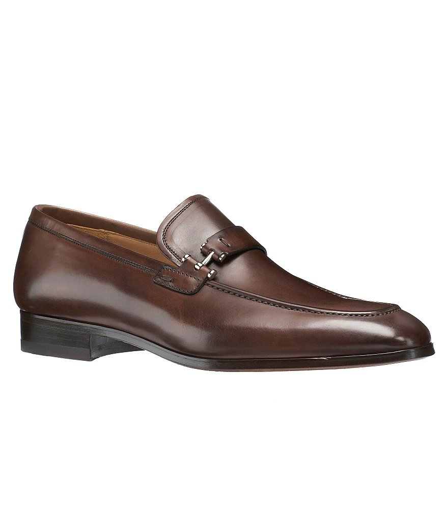 Magnanni Paseo Leather Strap Dress Loafers