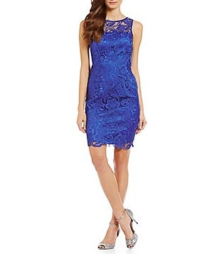 Adrianna Papell Petite Lace Dress