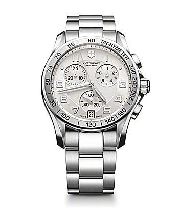 Victorinox Swiss Army Men�s Classic Chronograph Dress Watch
