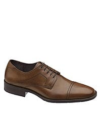 Johnston & Murphy Larsey Cap-Toe Dress Oxfords