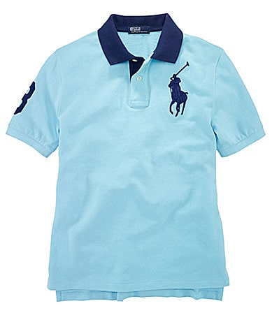 Ralph Lauren Childrenswear 8-20 Big Pony Mesh Polo Shirt
