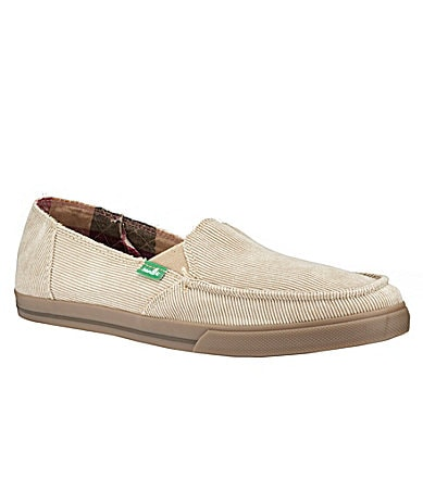 Sanuk Corduroy Slip-On Shoes
