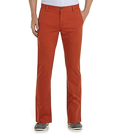Dockers Alpha Khaki D1 Slim-Fit Flat-Front Pants