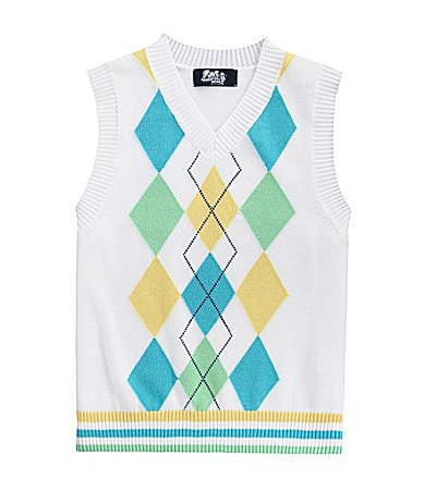 Class Club 2T-7 Argyle Sweater Vest