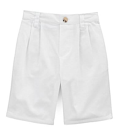 Class Club 2T-7 White Pleated Shorts