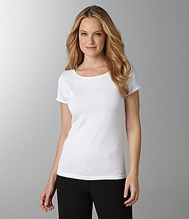 Investments II Cap-Sleeve Ballerina Top