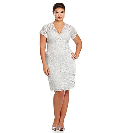 Marina Woman Beaded Lace Dress