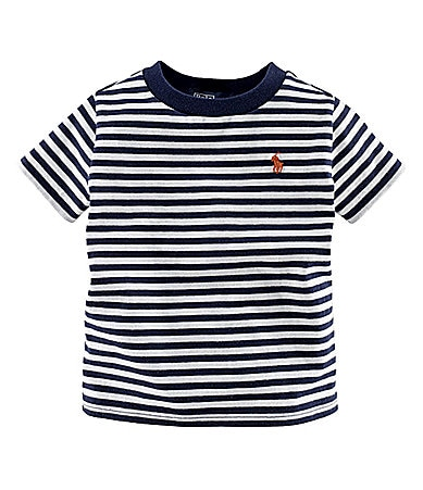 Ralph Lauren Childrenswear 8-20 Striped Jersey Tee