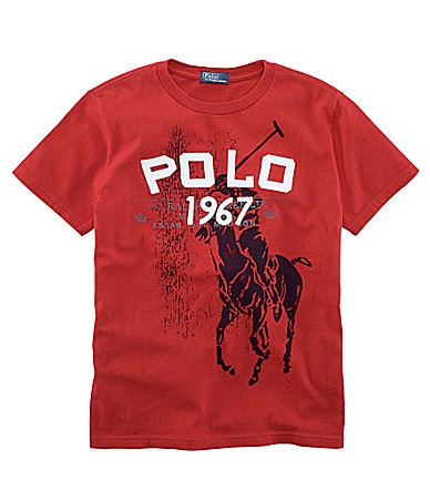 Ralph Lauren Childrenswear 8-20 Jersey Tee