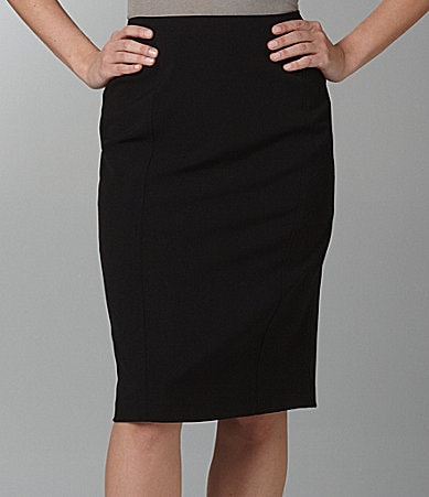 Investments PARK AVE fit Paneled Pencil Skirt