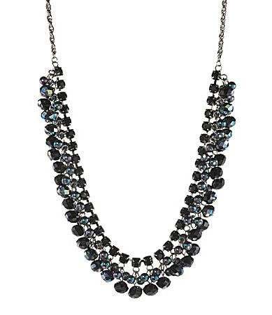 Cezanne Beaded Shaky Frontal Necklace