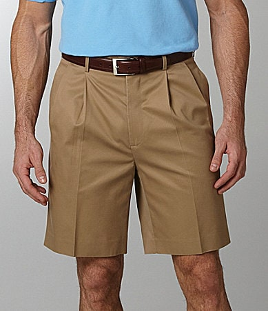 Daniel Cremieux Signature Supima Pleated Shorts