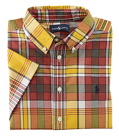Ralph Lauren Childrenswear 8-20 Blake Plaid Woven Shirt