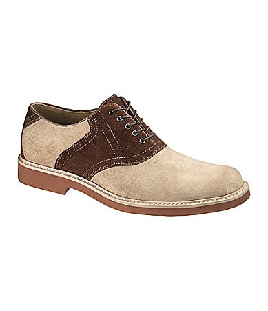 Hush Puppies Authentic Suede Oxfords