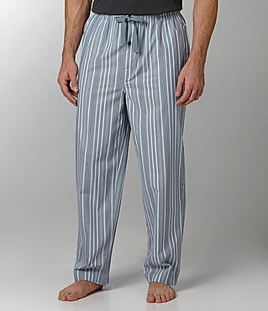 Roundtree & Yorke Striped Pajama Pants