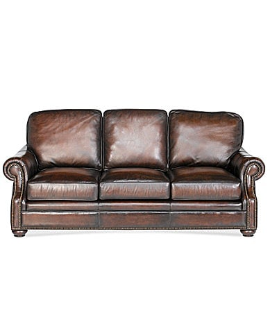 Bradington Young Chateau Leather Sofa