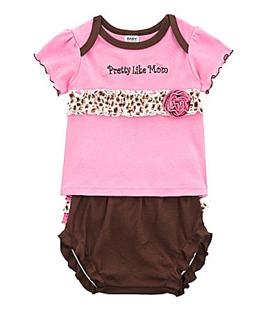 Baby Essentials Newborn Pretty Like Mom Tee With Panty