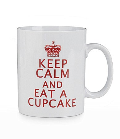 Creative Tops Keep Calm And Eat A Cupcake Pint Mug